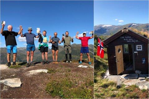 MARKERING: Laurdag var det offisiell opning av fjellhytta «Novabu» på Hamnanova i Jølster.