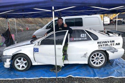 NM: Arild Reiakvam er på Gol for å konkurrere i NM i rallycross.
