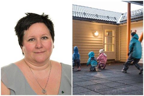 INGEN SMITTE: Leiar i Lunden Barnehage, Lena Kristin Slettemark, kan puste letta ut, for no.
