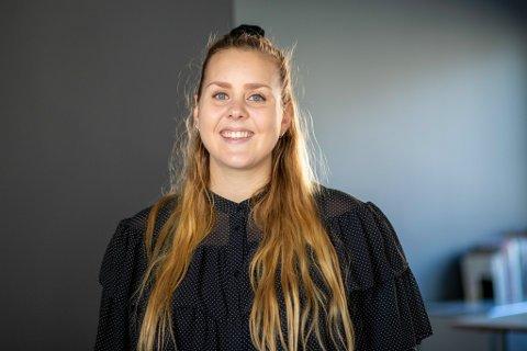 JOBBYTE: Mariell Midtbø Bøyum (26) blir ny SoMe-ansvarleg i Unicef.