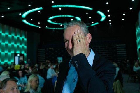 SPENNANDE: Olve Grotle(H) ser ut til å få eit mandat.