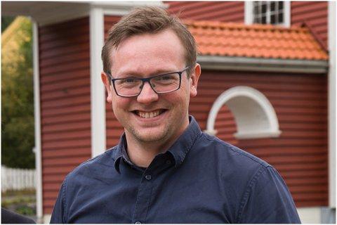 NY ROLLE: Stig Hovlandsdal Øvreås er registrert som ny dagleg leiar i avisa Ytre Sogn.