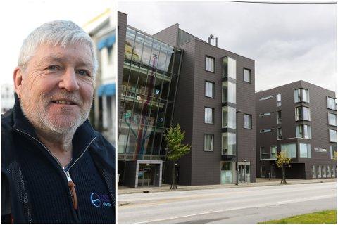 STOREHAGEN: Vidar Grønnevik er styreleiar  i FUTURUM AS som no skal seljast. Selskapet eig to bygg i Storehagen.