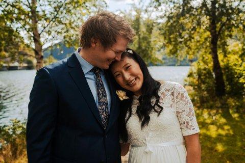 Anett Horstad og Håvard Berge gifta seg