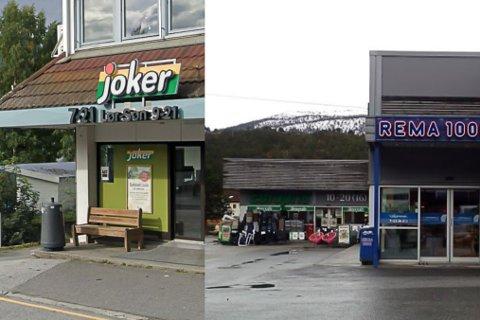 IKKJE TOLERERT: Både ovanfor kvinnelege tilsette på Europris, Joker og på Rema 1000 på Sandane har ein mann gått langt over streken.