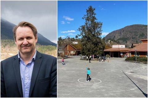 BYTE: På nyåret vil Stafsnes ha ein ny rektor på plass ved Flatene skule i Førde.
