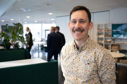 TEK INITIATIV: Andreas Fonn Macsik vil at færre elevar i grunnskulen skal falle utanfor.