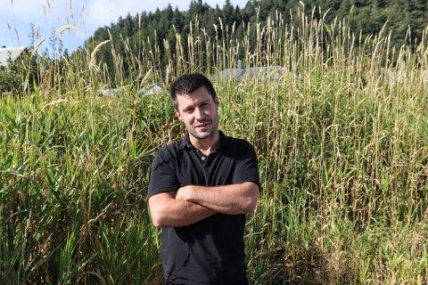MUSIKAR: Mats Systaddal skulle eigentleg spele under Sunnfjordslepp. Då arrangementet vart avlyst fekk han sin eigen idé.