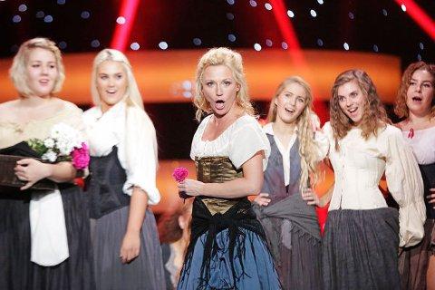 """Heidi Gjermindsen Broch sang seg videre til neste uke med opera sangen """"Habanera"""""""
