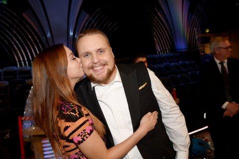 Stian og kjæresten Tina Svestad