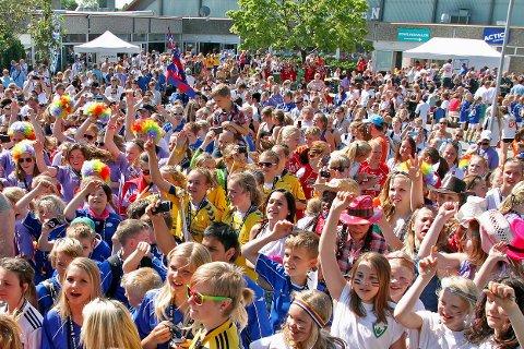 STORINNRYKK IGJEN: Fredrikstad Cup er allerede fulltegnet og det er ventet storinnrykk til Kongstenhallen i perioden 13 til 16. mai neste år. FOTO: KENT-INGE OLSEN