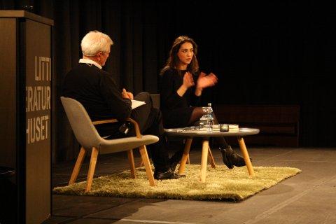 Mah-Rukh Ali ble intervjuet i samtale av Frode Rekve.