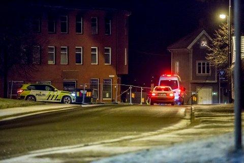Politiet lette i natt etter gjerningspersonen i Sarpsborg.