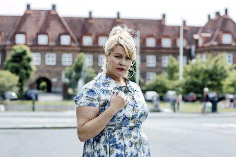 Var med i fjor: Monica Hjelle i rollen som Margareth i den kritikerroste NRK-serien «Kampen for tilværelsen».foto: thomas ekström, NRK
