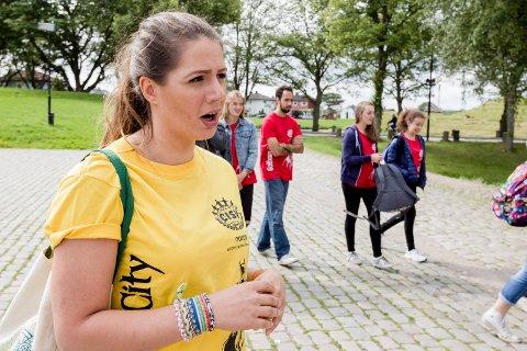 Kristina Dawood er en av de norske lederen for sommerleiren.