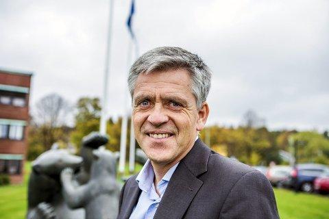 Fornøyd: Direktør Dag Arthur Aasbø er fornøyd med kvartalsresultatet, spesielt for lignin-virksomheten. (Foto: Jarl M. Andersen/SA)