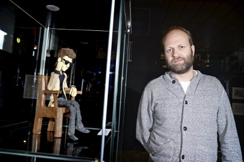 Festivalklar: Leder for Fredrikstad Animation festival, Anders Narverud Moen, begynner å få på plass festivalprogrammet.Arkivfoto: kent Inge Olsen