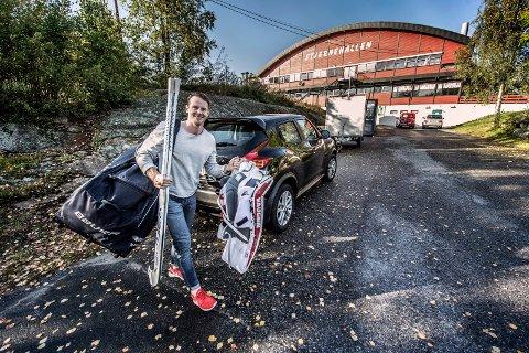 BYTTER BUR: Tommy Johansen er klar for å stoppe gamleklubben Sparta torsdag kveld. Foto: Geir A. Carlsson