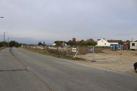 NYE BOLIGER: Her kommer de nye omsogsboligene mellom Begby og Selbak.