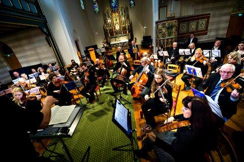 Østfold symfoniorkester skulle satt opp «Rigoletto» sammen med Oslo Operafestival flere steder denne måneden. Det er nå avlyst. Bildet er tatt fra en konsert våren 2014.