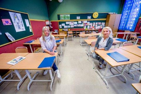 Helsesøstre som Lino Lubiana vil ha flere av og at de skal få høyere lønn. Inger Johanne Bråten (til venstre) ved Rolvsøy helsestasjon og sjefshelsesøster Ragnhild Folde.