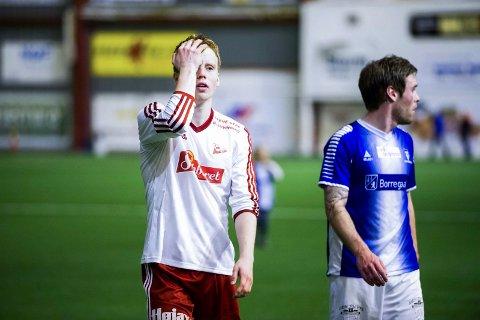 PÅ VEI UT: Østfoldhallen vil fra 1. mai ikke være en arena for Håvard Åsheim, FFK og andre fotballspillere.