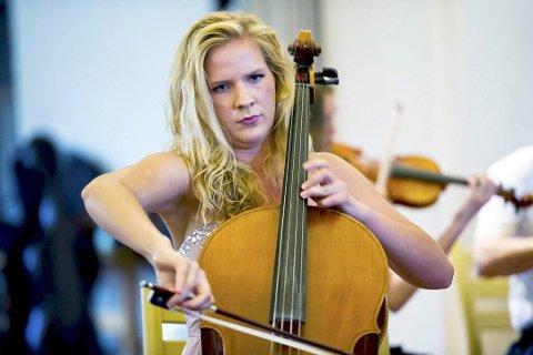 Første jente: Cellist Anine Kristine Radotina var første jente som vant, i 2013.