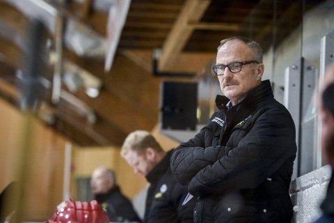 BLE INGEN TREPOENGER: Jarmo Tolvanens Stjernen var storfavoritter mot Kongsvinger torsdag, men måtte gi fra seg poeng. Foto: Geir A. Carlsson
