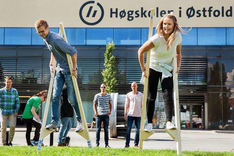 Studentmoro som bidrar til at Fredrikstad er populært studiested.