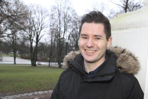 FORNØYD: Rektor John Einar Halvorsrød på kulturskolen er ille godt fornøyd med signalene om mer penger.