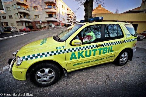 Forsvinner: Akuttbilen har transportert anestesisykepleiere til akutte situasjoner, men ikke pasienter. Anestesisykepleiere vil nå fraktes i ambulanser.