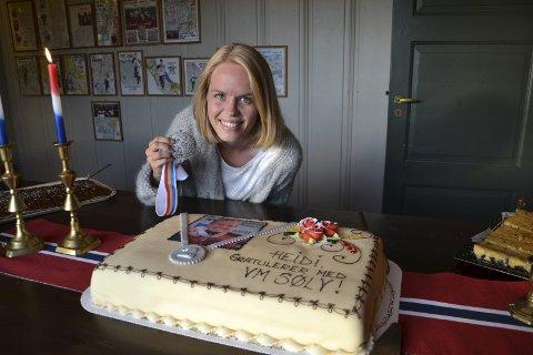 IDRETTSPRISEN: Heidi Bagstevold fikk Idrettsprisen lørdag kveld.