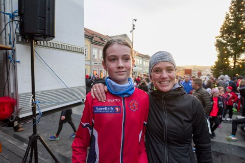 NUMMER EN OG TO: Astrid Stigen (til venstre) og Janne Kjellberg Johansen tok henholdvis sølv og gull i Nyttårsløpet. BEGGE FOTO: Christine Heim