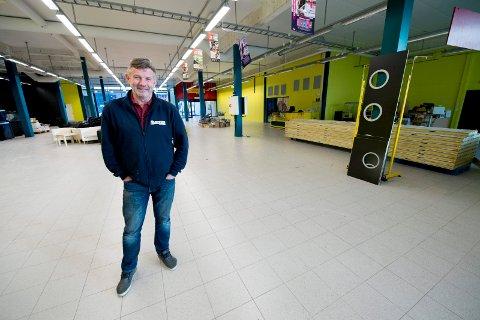 ÅPNER I JANUAR: I januar åpner Illebilli i Dikeveien på 1.500 kvadratmeter. Daglig leder Per Nordland i NordicForm Trading, som står bak etableringen, anslår at mat vil utgjøre rundt halvparten av sortimentet.