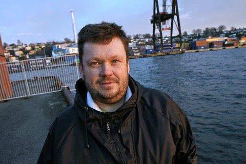 Heftig: Den lokale Venstre-toppen Sindre Westerlund Mork betegner reaksjonene mot Trine Skei Grande som «heftige».