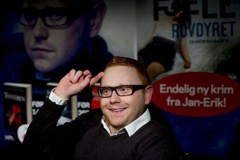 ENDELIG: Tre år etter at «Lykkejegeren» ble sluppet, er Jan-Erik Fjell nå klar med en ny bok om Anton Brekke.