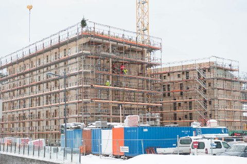 Tildelingen som her beskrives gjelder nye studenboliger på Remmen i Halden. Fra før av det bevilget til nye boliger som er under oppføring på Kråkerøy.