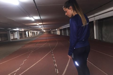 Marlen Aakre er avhengig at gode treningsmuligheter om vinteren for å kunne satse slik hun ønsker.
