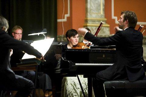Utsolgt: Leif Ove Andsnes-konserten i aulaen i fredag, kunne vært utsolgt flere ganger.Arkivfoto: Johnny Leo Johansen
