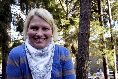 Skal fornye: Elin Tvete (Sp) leder opplæringsutvalget som skal skaffe nye lokaler for flere avdelinger for Østfold Fylkeskommunes Skole (ØFS). Arkivfoto: Øivind Lågbu