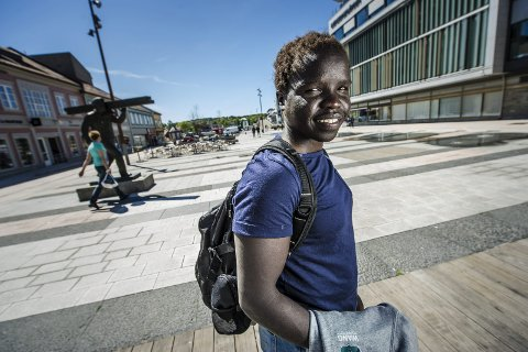 HAR TROEN: Grace Bullen har på ingen måte gitt opp håpet om å kvalifisere seg til sommerens OL. Foto: Geir A. Carlsson