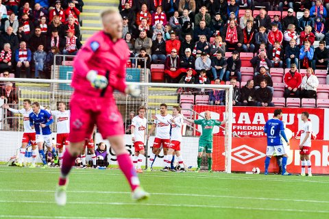 NEDTUR: FFK måtte skuffet se seg slått av erkerivalen. (Foto: Kent Inge Olsen)