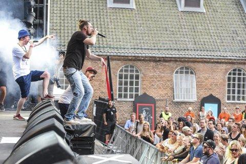 «Stor Overraskelse» spiller årets siste konsert i Gamlebyen.
