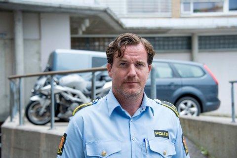 Krimsjef Rune Albertsen i Fredrikstad-politiet er forberedt på en travel nyttårsfeiring.