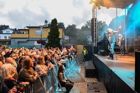 Uriah Heep spilte på Gressvik Summerparty 2016. Fjoråret ga et overskudd på 113.000 kroner.