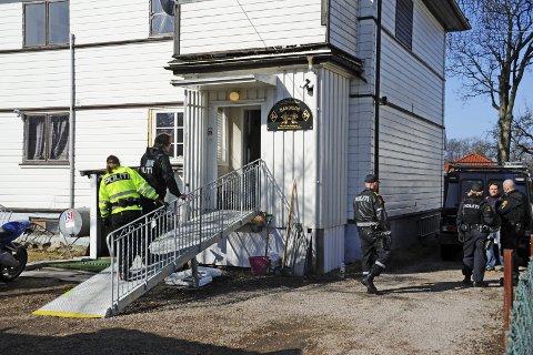 Truende ord: Bandidos-medlemmet er siktet for å ha truet en NRK-journalist under en politirazzia. Arkivfoto: Geir A. Carlsson