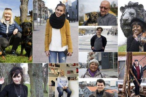 FIKK PRIS: FB har fått Amedias relasjonsbyggerpris for serien «450 folk i Fredrikstad». Her er et knippe av dem er intervjuet så langt.