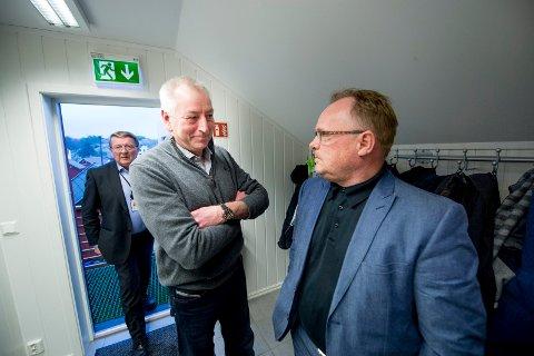 Eivind N. Borge, Jon Skogen og fiskeriminister Per Sandberg