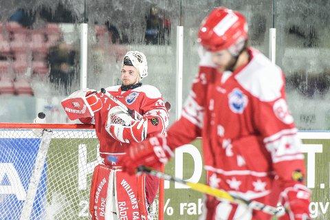 LANGT NEDE: Sander Berg var kanskje eneste Stjernen-spiller som kan få godkjent etter Winter Classic-tapet for Sparta. (Foto: Kent Inge Olsen)