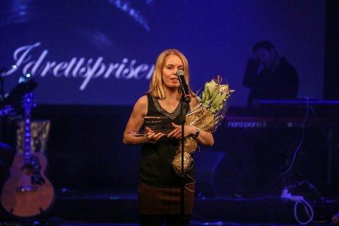 Vinner: Orienteringsløper Heidi Bagstevold vant Idrettsprisen lørdag kveld.